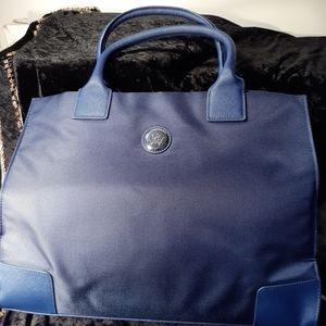 Joy Mangano Dark Blue Canvas Bag
